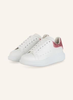 Alexander McQUEEN Plateau-Sneaker mit Glitzerbesatz