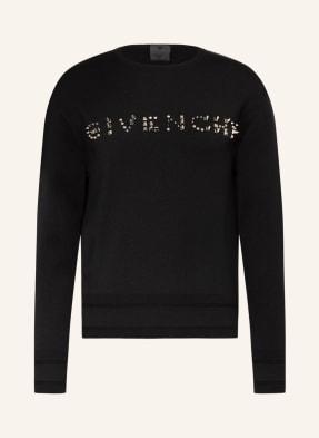 GIVENCHY Pullover mit Nietenbesatz