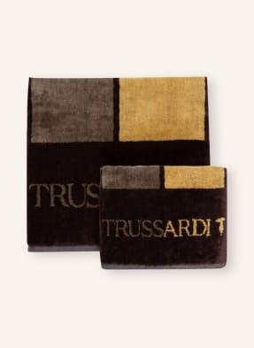 TRUSSARDI Home Set: Handtuch und Gästehandtuch SKYSCRAPERS