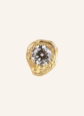 ELHANATI Ohrstecker IMAN mit Diamant