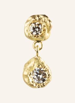 ELHANATI Ohrhänger DALILA M mit Diamanten