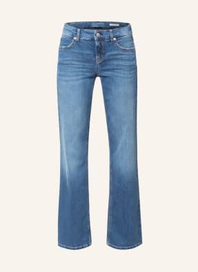 CAMBIO Flared Jeans TESS mit Nietenbesatz