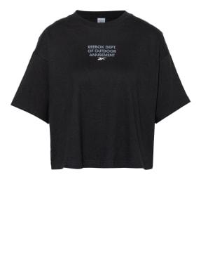 Reebok CLASSIC Oversized-Shirt CLASSICS CAMP GRAPHIC