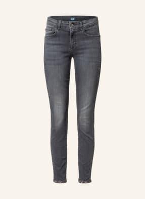 LIU JO 7/8-Skinny Jeans mit Schmucksteinbesatz
