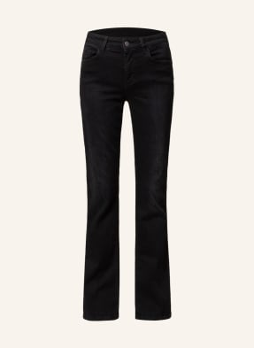 LIU JO Bootcut Jeans mit Schmucksteinbesatz