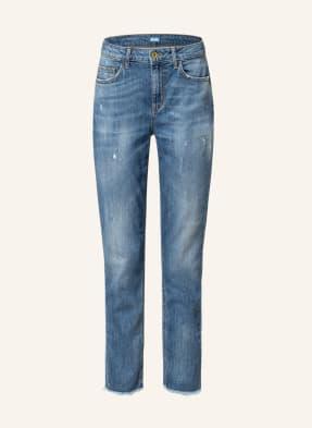 LIU JO Boyfriend Jeans mit Schmucksteinbesatz