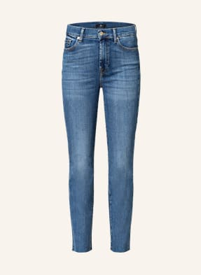 7 for all mankind Straight Jeans THE STRAIGHT CROP