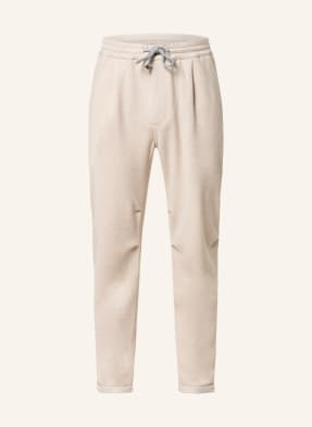 BRUNELLO CUCINELLI Cashmere-Hose im Jogging-Stil Extra Slim Fit