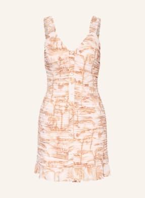 TED BAKER Kleid RROSIEE mit Volantbesatz