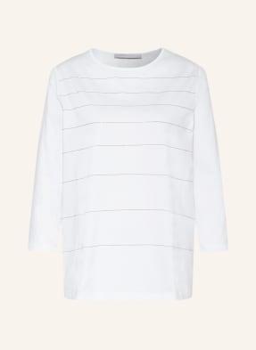 FABIANA FILIPPI Shirt mit 3/4-Arm und Schmucksteinbesatz