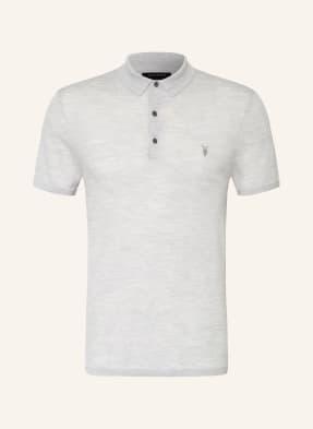 ALL SAINTS Strick-Poloshirt MODE aus Merinowolle