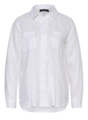 REPEAT Hemdbluse aus Leinen