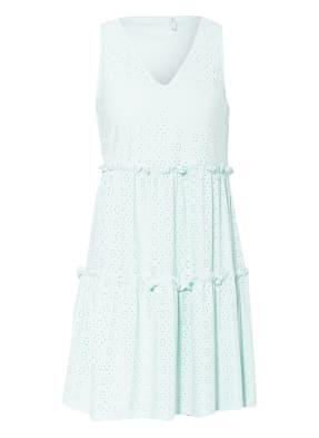 ONLY Kleid mit Lochstickereien