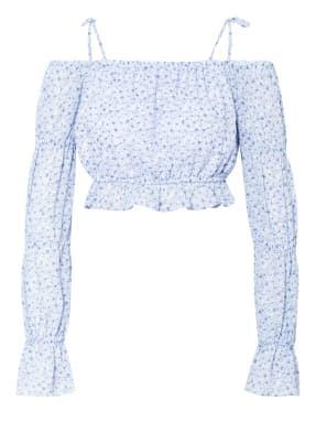 NA-KD Cold-Shoulder-Bluse