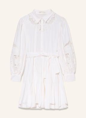 maje Kleid REBELLO mit Spitze