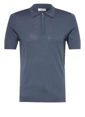 REISS Strick-Poloshirt MAXWELL aus Merinowolle