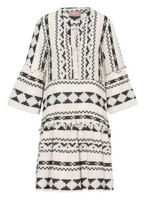 CARTOON Kleid mit 3/4-Arm und Glitzergarn