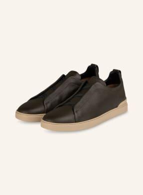Ermenegildo Zegna Slip-on-Sneaker TRIPLE STITCH