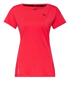 PUMA T-Shirt TRAIN FAVORITE mit Mesh-Einsatz