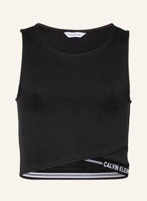 Calvin Klein Cropped-Top