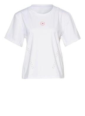 adidas by Stella McCartney T-Shirt mit Mesh-Einsatz