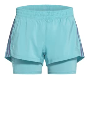 adidas 2-in-1-Fitnessshorts PACER 3S