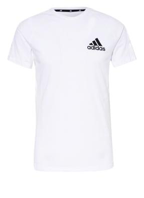 adidas T-Shirt mit Galonstreifen