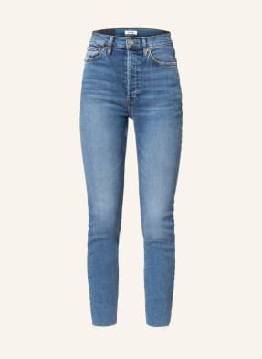 RE/DONE 7/8-Jeans 90s HIGH RISE ANKLE CROP