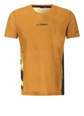 adidas Laufshirt TERREX PARLEY AGRAVIC TRAIL RUNNING PRO aus Mesh