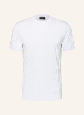 EMPORIO ARMANI T-Shirt aus Jacquard