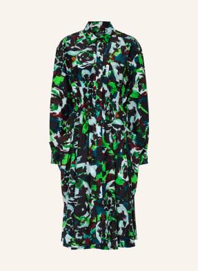 KENZO Hemdblusenkleid mit Seide