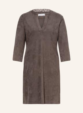 CINQUE Kleid CIDALMA mit 3/4-Arm in Lederoptik