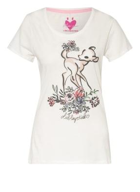 LIEBLINGSSTÜCK T-Shirt ZIAL mit Schmucksteinbesatz