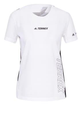 adidas Laufshirt TERREX PARLEY AGRAVIC TR PRO mit Mesh-Einsatz