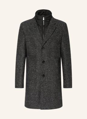 BOSS Mantel HYDE mit abnehmbarer Blende