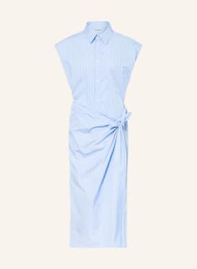 BALENCIAGA Hemdblusenkleid
