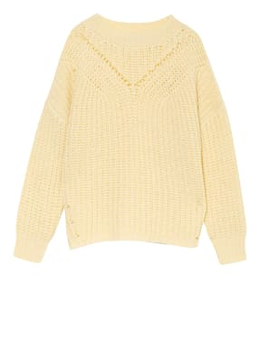 PESERICO Oversized-Pullover mit Alpaka