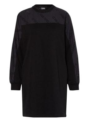 KARL LAGERFELD Kleid im Materialmix