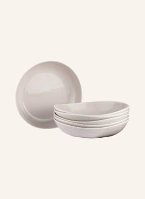 Rosenthal 6er-Set Suppenteller JUNTO SOFT SHELL