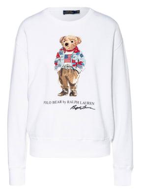POLO RALPH LAUREN Sweatshirt mit Schmucksteinbesatz
