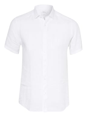 REISS Kurzarm-Hemd HOLIDAY Slim Fit aus Leinen