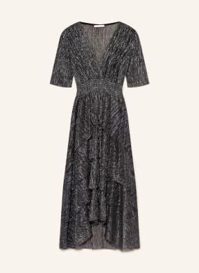 maje Kleid RUFFANE mit Glitzergarn