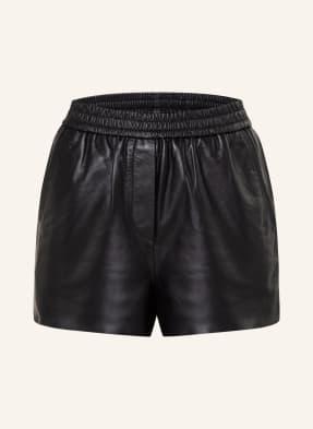 maje Shorts ICONO in Lederoptik