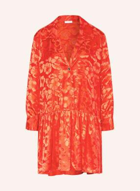 SANDRO Jacquard-Kleid mit Seide
