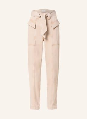 CLAUDIE PIERLOT Paperbag-Jeans PANACOTTA