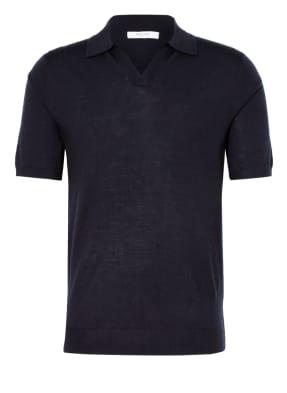 REISS Poloshirt DUCHIE aus Merinowolle
