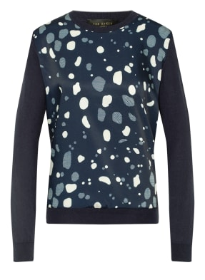 TED BAKER Pullover PRIYAAH im Materialmix