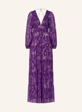 ba&sh Kleid DINA mit Glitzergarn
