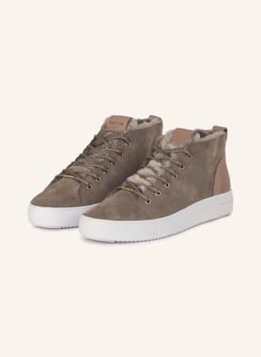 BLACKSTONE Sneaker mit Lammfell