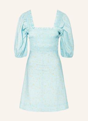 GANNI Kleid mit 3/4-Arm